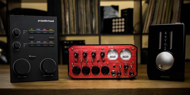 5 Home Studio Production Soundcards Under $1000