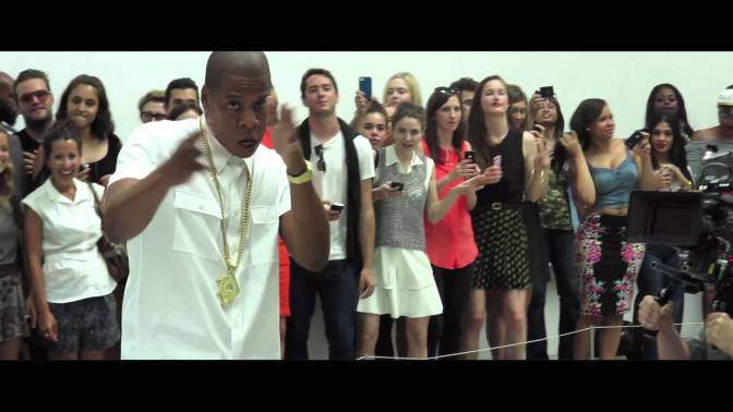 "JAY Z ""PICASSO BABY"" (LIVE) at the Pace Gallery in New York City 7.10.13"