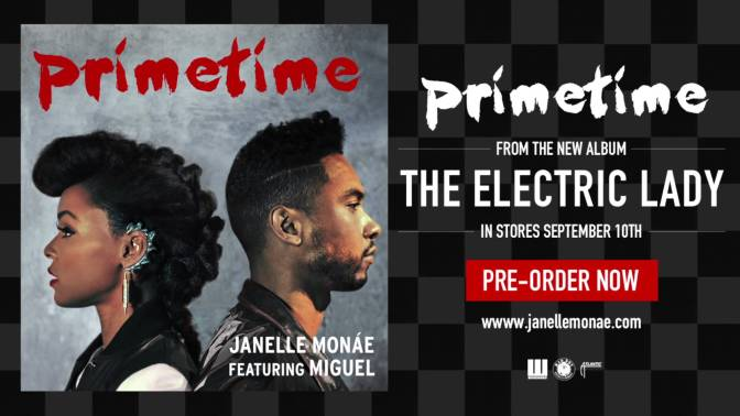 Janelle Monáe – PrimeTime ft. Miguel [Official Audio]