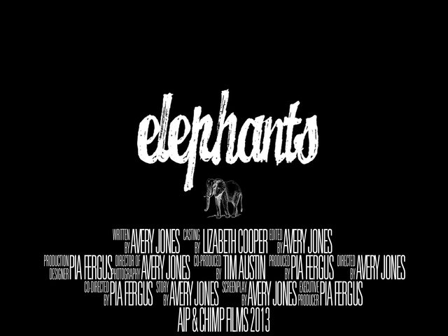 ELEPHANTS (Feature FILM)